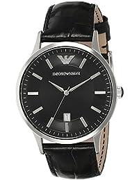 [エンポリオアルマーニ] EMPORIO ARMANI ウォッチ 腕時計 ステンレススチール(SS)×レザーベルト AR2411 [並行輸入品]