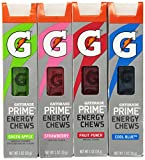 Gatorade G Series 01 Prime Energy Chews Mixed (4 Sleeves) by Gatorade