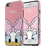 ディズニー トゥインクル タフ ダブル バンパー ケース iPhone7 iPhone7PLUS iPhone6S iPhone6 iPhone6S PLUS iPhone6 PLUS カバー キャラクター ミッキー ミニー ドナルド デイジー チップ デール プルート グーフィー シリコン スマホケース アイフォン7 アイフォン6S アイフォン6 アイフォン iPhone 7 6S 6 iPhone7ケース (iPhone7 PLUS専用, デイジー)