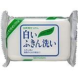 ミヨシ石鹸 白いふきん洗い 135g×12個
