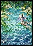 エンスカイ マジック:ザ・ギャザリング プレイヤーズカードスリーブ 『ストリクスヘイヴン:魔法学院』 日本画ミスティカルアーカイブ 《成長のらせん》 MTGS-169