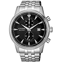 Citizen Men's Solar Powered Wrist watch, stainless steel Bracelet analog Display and Stainless Steel Strap, CA7001-87E