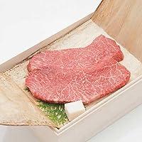 近江牛ギフト 赤身ステーキ 紙箱入 (3枚入合計600g)