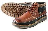 (ドライセル) drycell 570 ヘリンボーン アンティークフィニッシュ ブーツ/ミドルカット[DC570] 26.5cm BROWN