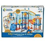 Learning Resources LER2843 City Engineering & Design Building set