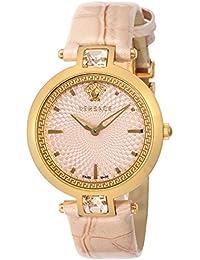 [ヴェルサーチ]VERSACE 腕時計 Olympo ピンク文字盤 VAN050016 レディース 【並行輸入品】