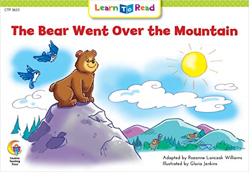 The Bear Went Over The Mountain (Fun and Fantasy Learn to Read)の詳細を見る