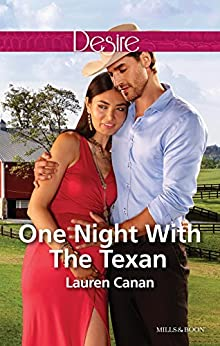 One Night With The Texan (The Masters of Texas Book 2) by [Canan, Lauren]