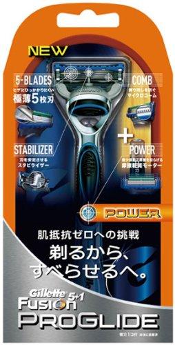 ジレット フュージョン プログライド パワーホルダー 替刃1個付 / P&G