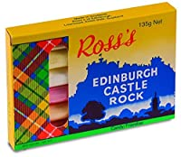 ROSS's Edinburgh Castle Rock Candy 135g / 4.76oz