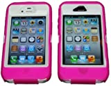 Best OtterBox iPhone 4ケース - iPhone 44s Body Armor Defender–OtterBox Defenderに匹敵+ 1pc 3ftデータケーブル(ピンクonホワイト) Review
