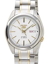 [セイコー]SEIKO SNKL47J1 SEIKO5 セイコーファイブ 日本製 自動巻き ホワイト メンズ 腕時計 [並行輸入品]