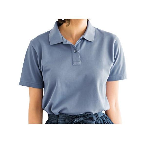 [セシール] ポロシャツ UVカットレディス...の紹介画像68