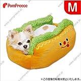 ノーブランド品 ホットドッグベッド M (ペット用 小型犬 カドラー ベッド)