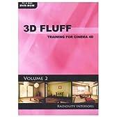3D Fluff Training for CINEMA 4D Release 9/10 - Vol.2、Radiosity Interiors 英語版 Hyb 価格改定