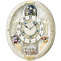 (セイコークロック) SEIKO CLOCK ディズニータイム 電波 壁掛け時計 FW580W メロディー 音楽 ミッキー ミニー ドナルドダック アナログ