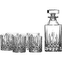 Royal Doulton Crystal Decanter & 6 Glasses