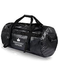 北欧発 「The Friendly Swede」ダッフルバッグ ボストンバッグ 大容量バッグ 耐水バッグ 3wayバッグ スポーツバッグ トラベルバッグ アウトドアバッグ 90L/60L/30L