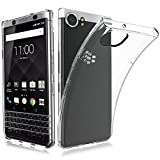 BlackBerry KEY2 ケース TopACE クリア スリム TPU カバー 落下 衝撃 吸収 擦り傷防止 BlackBerry KEY2 用 カバー (BlackBerry KEY2,クリア)