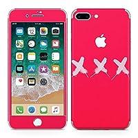 iPhone7 Plus 専用 全面スキンシール フル 背面 側面 正面 液晶 ステッカー スマホカバー ケース 保護シール 013940