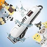 【切れ味抜群】ペット用 バリカン 犬 猫 グルーミング バリカン Looffy 刈り高さ調整可能 低騒音 低振動 充電式 コードレス 水洗い可能の刃 初心者 プロ用 部分 全身カット 犬用 トリミング バリカン 小型 中型 大型犬に適用 ペットクリッ