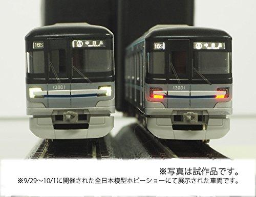 グリーンマックス Nゲージ 東京メトロ13000系 (日比谷線) 7両編成セット (動力付き) 30680 鉄道模型 電車
