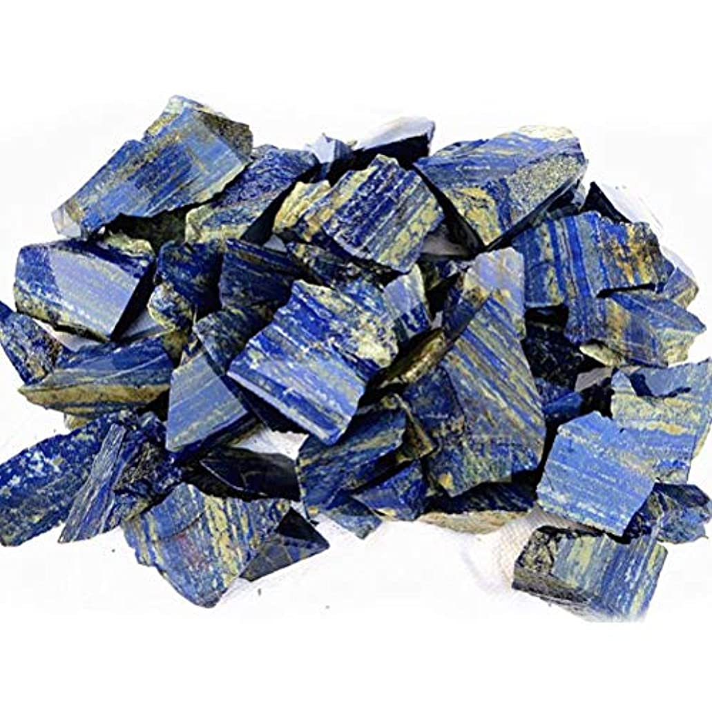 支出成功するプーノVosarea 100グラムナチュラルラピスラズリタンブルストーンヒーリングレイキクリスタルジュエリー作りホームデコレーションdiy材料宝石石