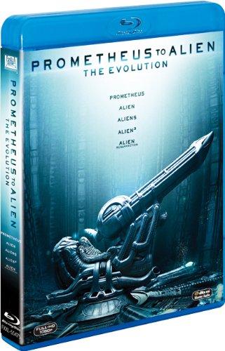 【FOX HERO COLLECTION】プロメテウス‐エイリアン ブルーレイBOX<5枚組> (初回生産限定) [Blu-ray]