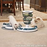 CatIt Treat Maze Play & Scratcher Kit Treat Maze Play & Scratcher Kit by Catit [並行輸入品]