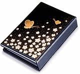 携帯仏壇/携帯位牌「マインドアルテ:花と蝶」【名入れ彫刻代込み】