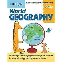 World Geography K & Up: Sticker Activity Book: Kumon Sticker Activity Book