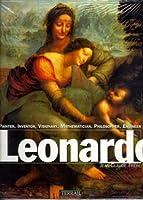 Leonardo: Painter, Inventor, Visionary, Mathematician, Philosopher, Engineer by da Vinci Leonardo Jean-Claude Frere Jean-Marie Clarke(1995-12-01)