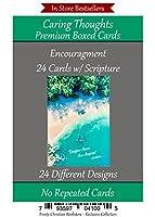 励ましカード( Repeatedカードなし24デザインChristian / Religiousグリーティングカード詰め合わせ~ Scripture in Everyカード