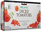 KIRKLAND (カークランド) シグネチャー オーガニック ダイストマト 411g×8缶