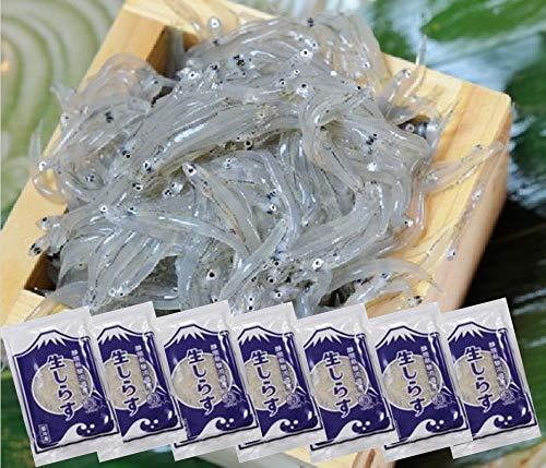 静岡県 駿河湾産 鮮度最高 生しらす 100g×7 (冷凍)( シラス )