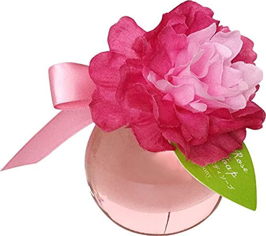 リップかなりの存在チャーリー スイートローズバブルバス 入浴剤 2種 (ピンク(60318))