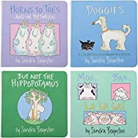 Constructive Playthings SCH-22 Sandra Boynton Board Book Stories Set of 4 Grade: kindergarten to 3 years 5.65 Height 1.5 Wide 5.6 Length [並行輸入品]