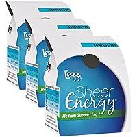 L'eggs Women`s Set of 3 L`eggs Sheer Energy Control Top ST - Best Seller!