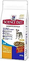 ヒルズのサイエンス・ダイエット シニアライト チキン 小粒 肥満傾向の高齢犬用 7歳以上 800g [ドッグフード]