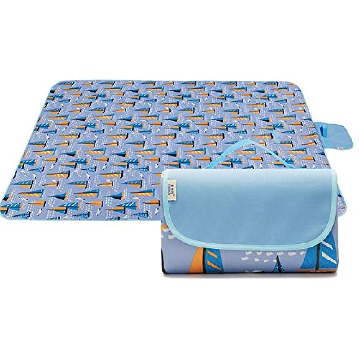 誰でも自明知覚するレジャーシートピクニックマット キャンプテントマットカーペット防湿パッドポータブル防水防水旅行キャンプハイキング4色2サイズオックスフォード布 (Color : A, Size : 145X180CM)
