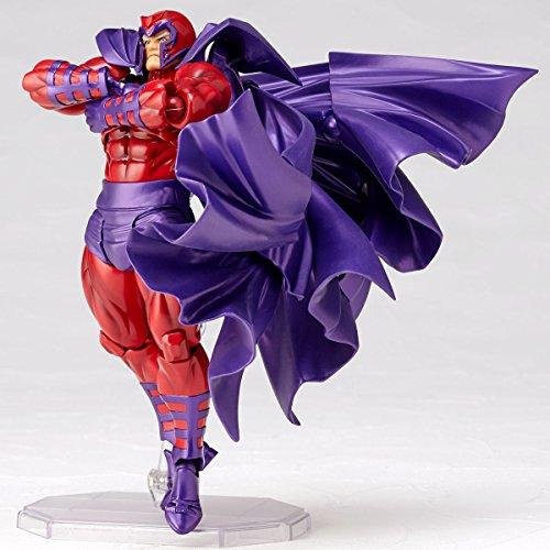 figure complex AMAZING YAMAGUCHI Magneto マグニートー 約165mm ABS&PVC製 塗装済みアクションフィギュア リボルテック