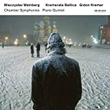 ヴァインベルク: 室内交響曲 第1番‐第4番、ピアノ五重奏曲