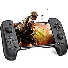PUBG モバイル専用 コントローラーBEBONCOOL Bluetooth接続 ゲームパットMobile コントローラー 高速射撃ボタン モバイルコントローラーAndroid&IOSスマホに対応コントローラー 人気な ゲーム荒野行動/フォットナイト/ウォーソング/PUBGに対応スマホコントローラー