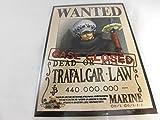 ワンピース ONE PIECE トラファルガー・ロー 手配書 カード 麦わらストア 限定 ポイントカード 特典 (非売品)