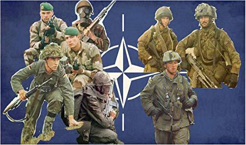 イタレリ 1/72 NATO 北大西洋条約機構 兵士 プラモデル IT6191