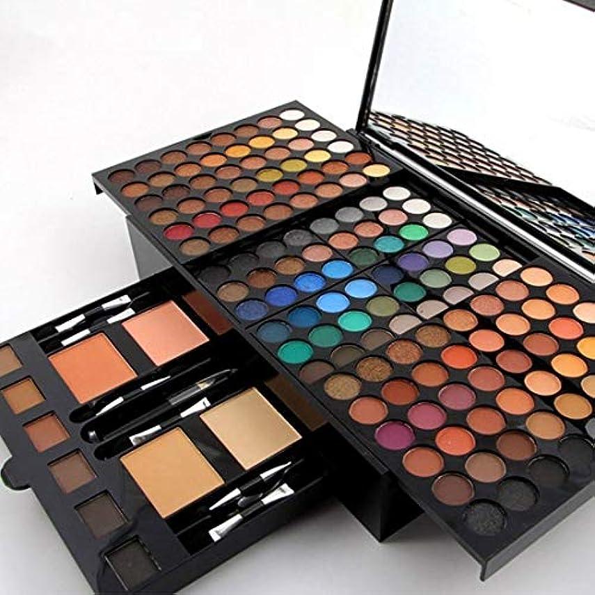 女王舞い上がるカエルMISS ROSE 180 Colors Professional Eyeshadow Palette Makeup Set with Makeup Brushes Mirror Shrink Matte & Shimmer...
