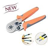 (アイウィス) IWISS  フェルール用 圧着工具 ワイヤーエンドスリーブ 絶縁付棒端子 圧着ペンチ DIN46228-4