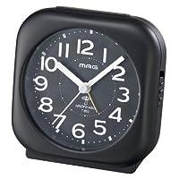 MAG(マグ) 電波アナログ目覚まし時計 ルーカス ブラック T-652BK