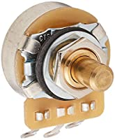 SCUD 可変抵抗器 CTS製ポット インチサイズ ショートソリッドシャフト 1MΩ Aカーブ CTS-A1M-SS