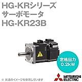 三菱電機 HG-KR23B サーボモータ HG-KRシリーズ 電磁ブレーキ付 (低慣性・小容量) (定格出力容量 0.2kW) (慣性モーメント 0.243J) NN